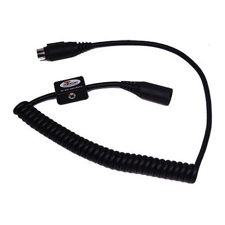 Part 2130 Spiraal kabel met 3,5mm aansluiting voor headset